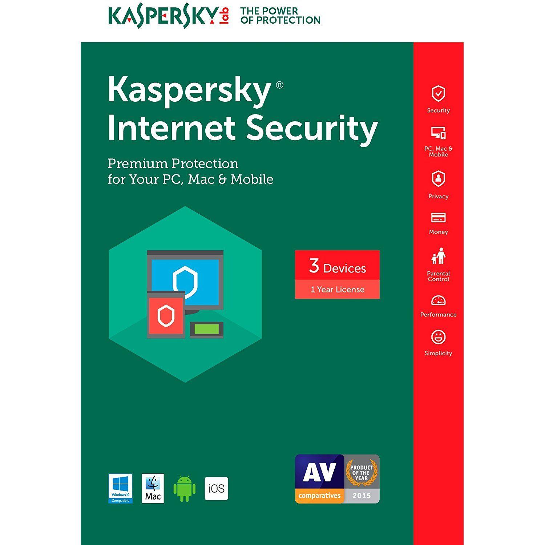 Kaspersky security 2017 3 device 1 year