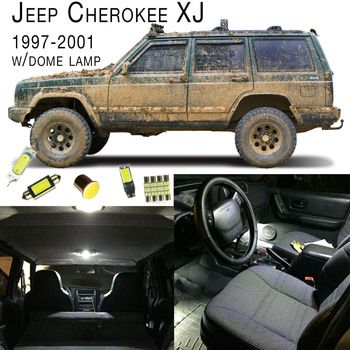 1997 2001 Jeep Cherokee Xj Interior Led Light Set Dome Lamp