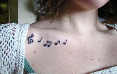 30 Collar Bone Tattoos Idea For Women And Girls Tattoos Mob Music Tattoo Designs Collar Bone Tattoo Tattoos