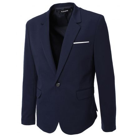 FLATSEVEN Mens Slim Fit Casual Premium Blazer Jacket (BJ102) #mensfashion #men #clothing #jacket #FLATSEVEN #outfits