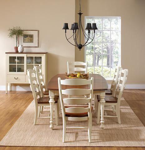 Amaretto And Biscotti Set, Canadel Furniture. #farmhouse #kitchentable