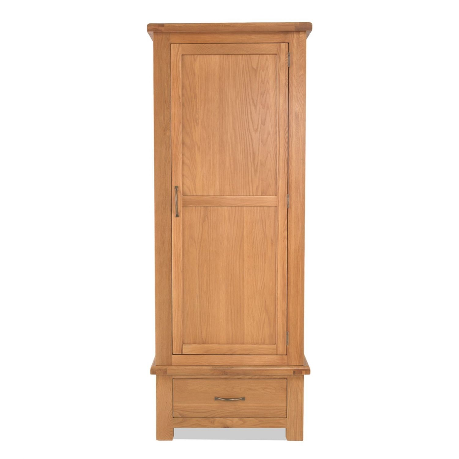 Tuscany solid oak bedroom furniture single wardrobe with drawer ebay