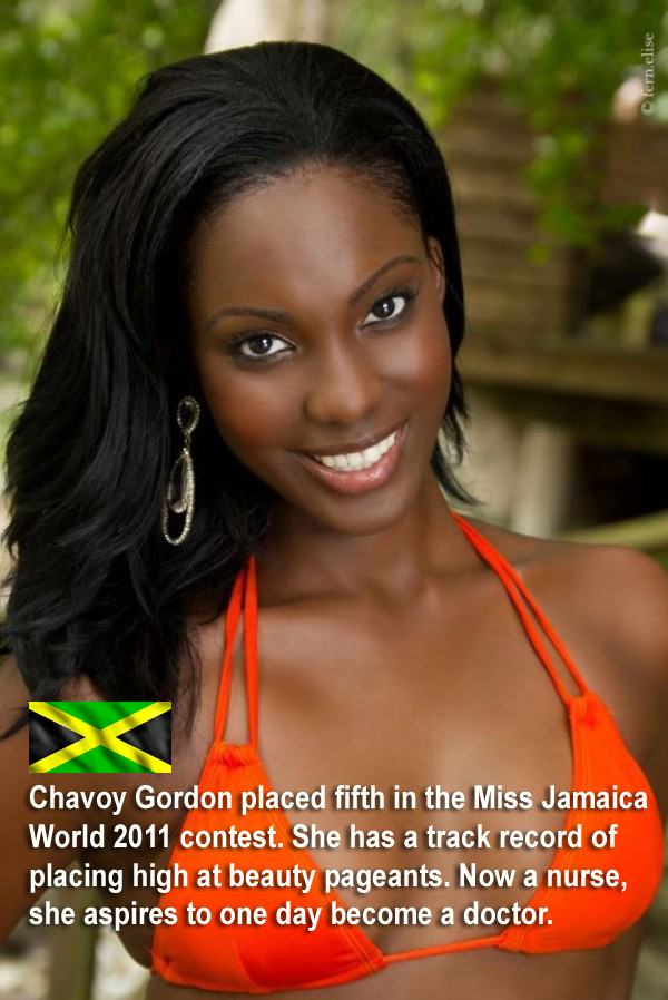 Most beautiful jamaican women