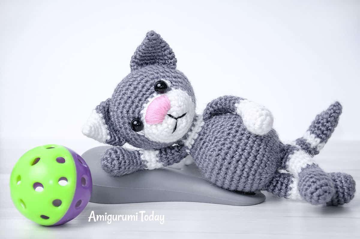 Toby the Cat crochet pattern by Amigurumi Today | amigurumi ...