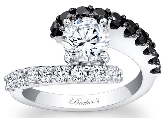 Black Diamond Engagement Ring My Addiction Pinterest Black