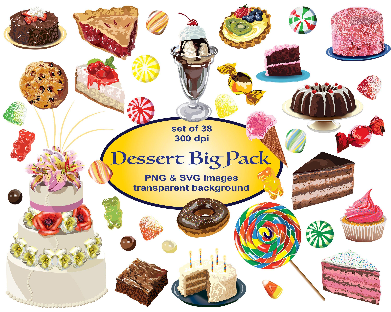 Dessert Clip Art Svg Clipart Cake Clipart Png Printable
