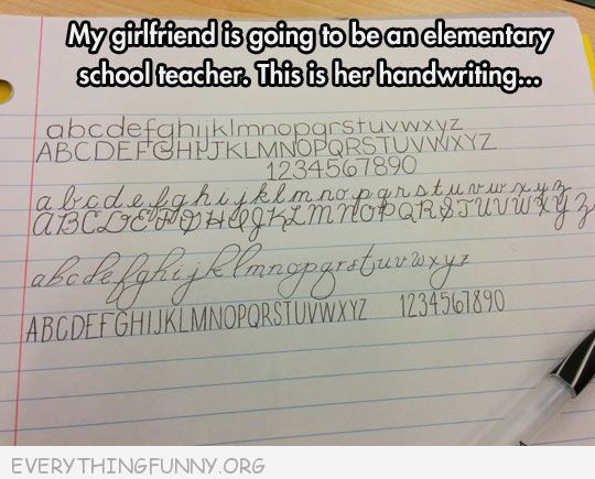 funny girflriend going to be school teacher here is her perfect