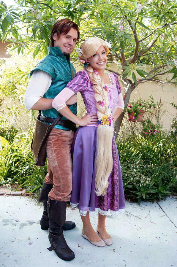 rapunzel and flynn rider cosplay disney tangled. Black Bedroom Furniture Sets. Home Design Ideas