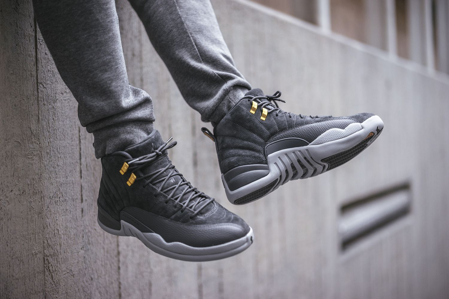 c70d51bc059 Air Jordan 12 Dark Grey coming soon. Who will cop    by  bstnstore