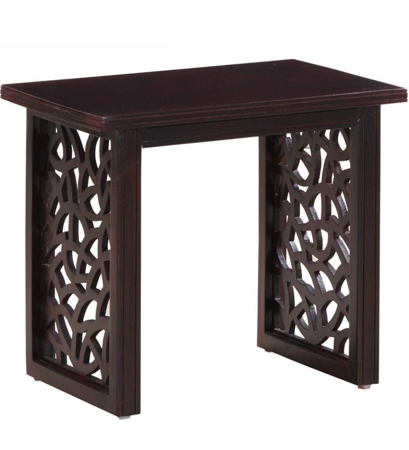 Enumclaw End Table In Passion Mahogany Finish By Woodsworth With