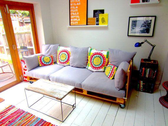 Camas recicladas como sillon buscar con google muebles for Sillon con palets reciclados