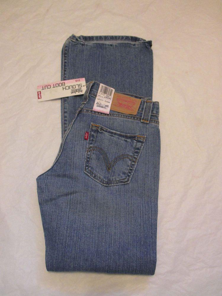 d311a0df34b Levi's 513 Jean Bootcut Slouch Juniors Size 0-17 Variation #Levis513Jeans  #BootCut