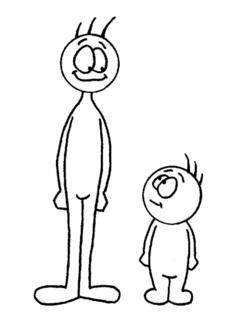 adjetivo 3- alto, que tiene gran estatura o altura