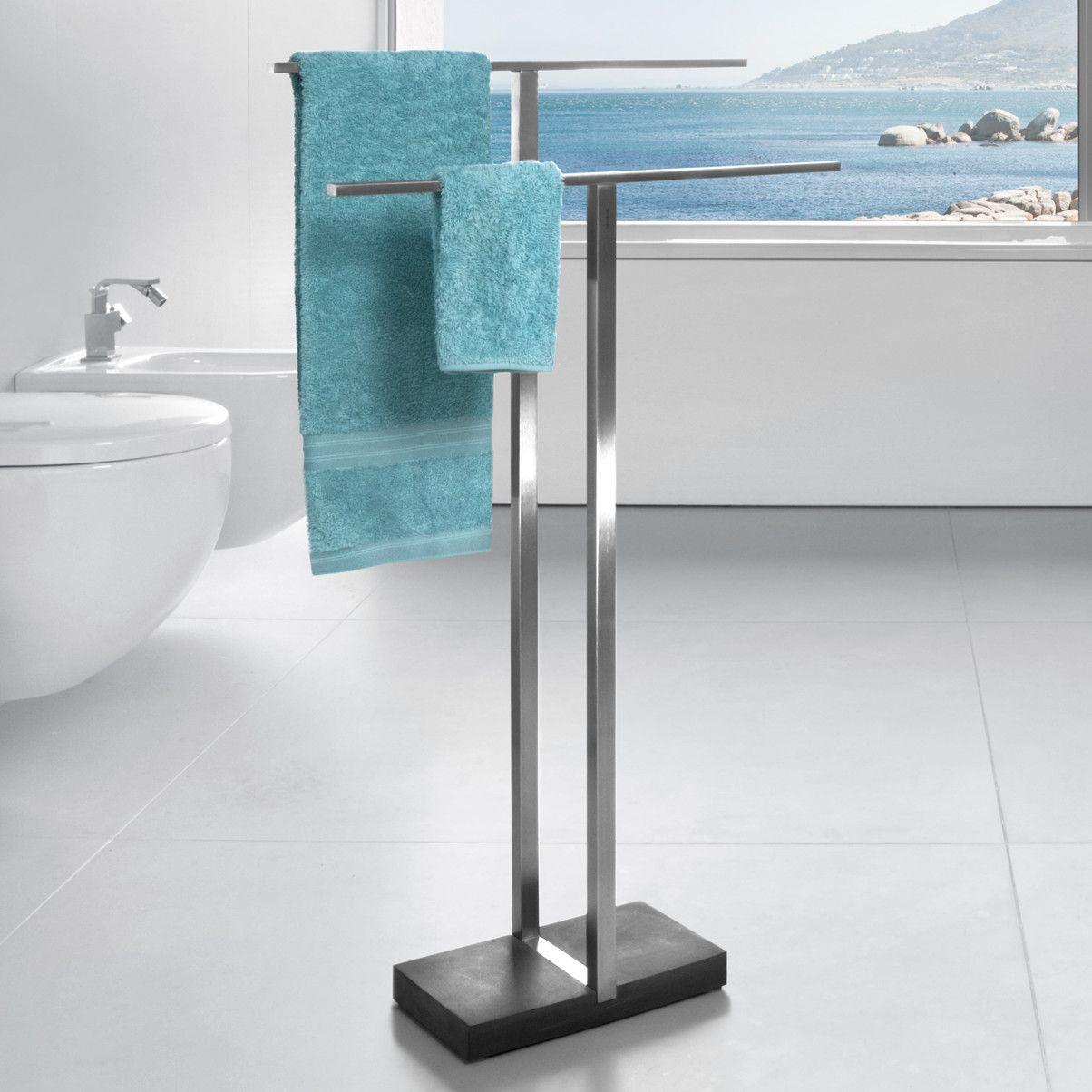 Menoto Free Standing Towel Stand | Towels, Free standing towel rack ...