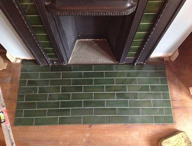Victorian Fireplace Hearth Tiles | Fireplace | Pinterest ...