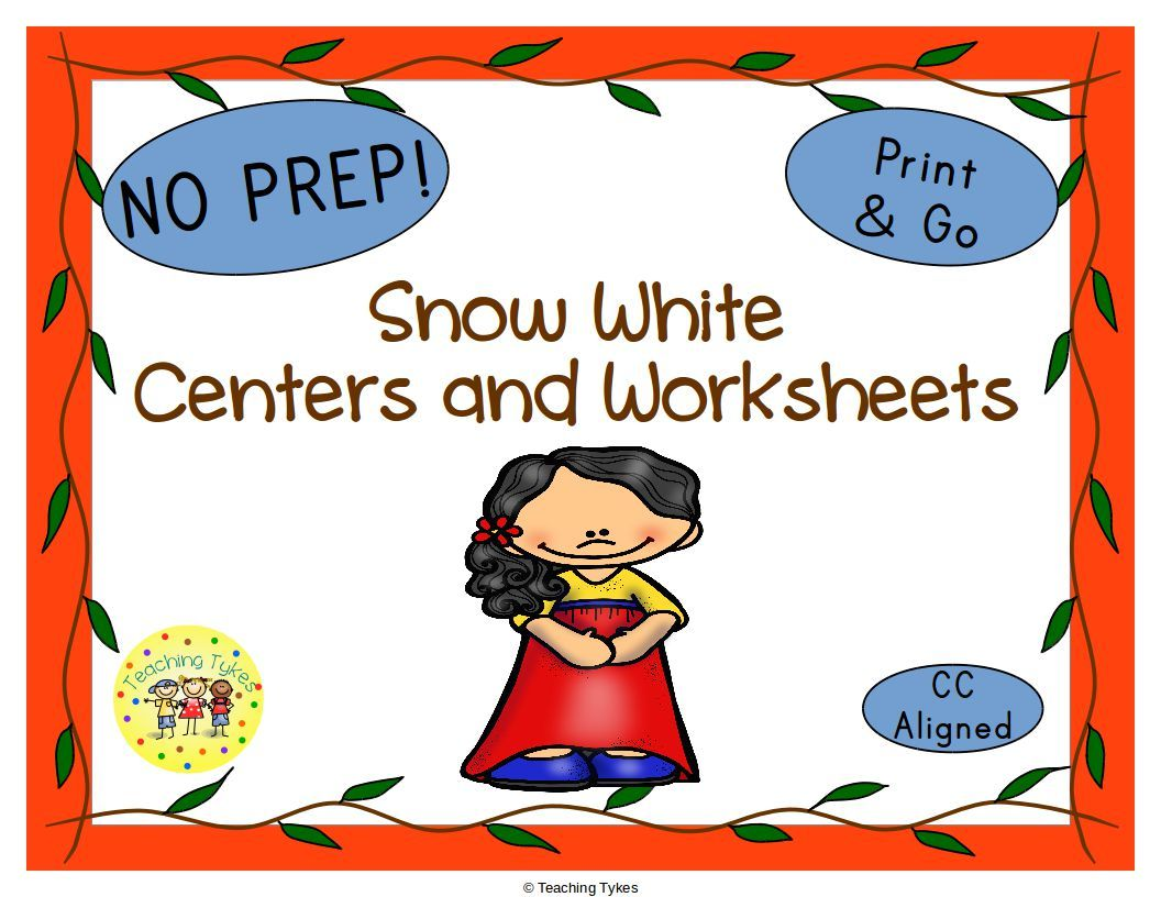 Snow White and the Seven Dwarfs Activities | MD