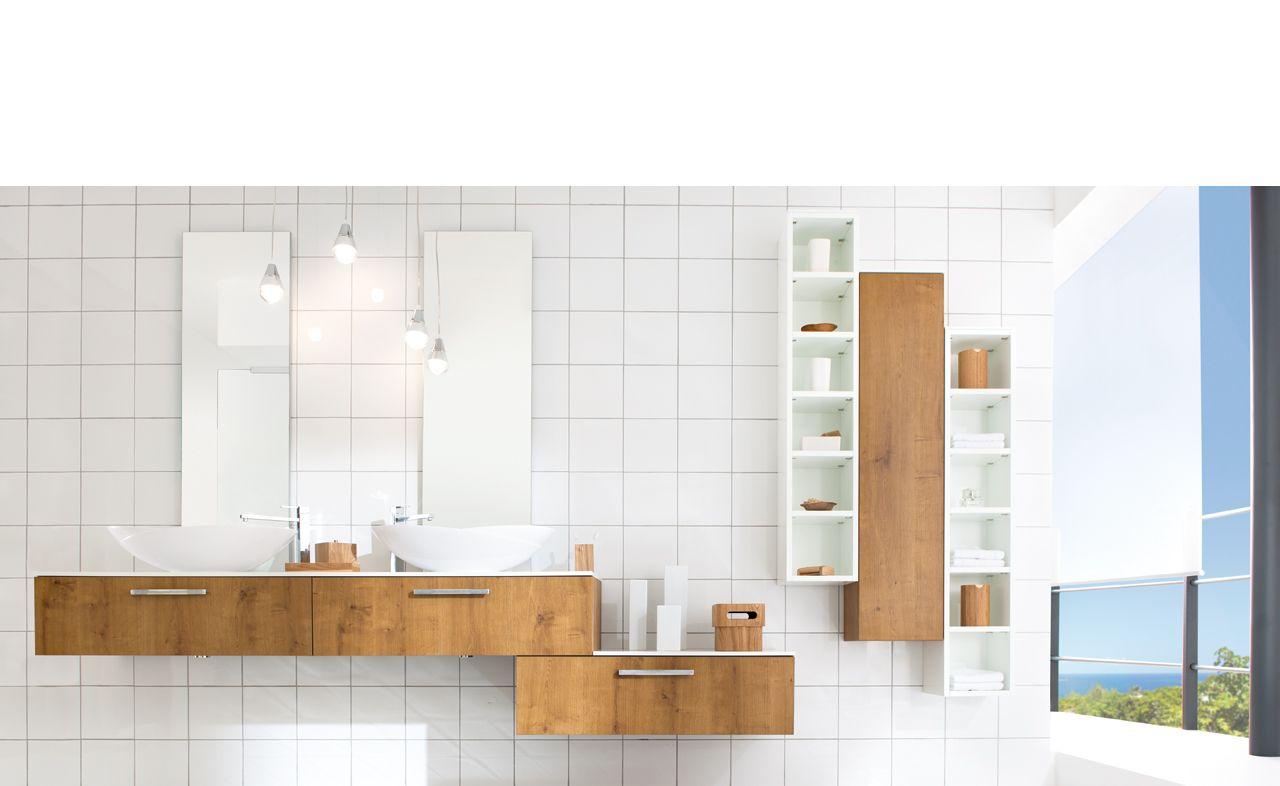 salle de bains sur mesure - wild oak - arcos wild oak. ambiance ... - Meubles Salle De Bain Schmidt