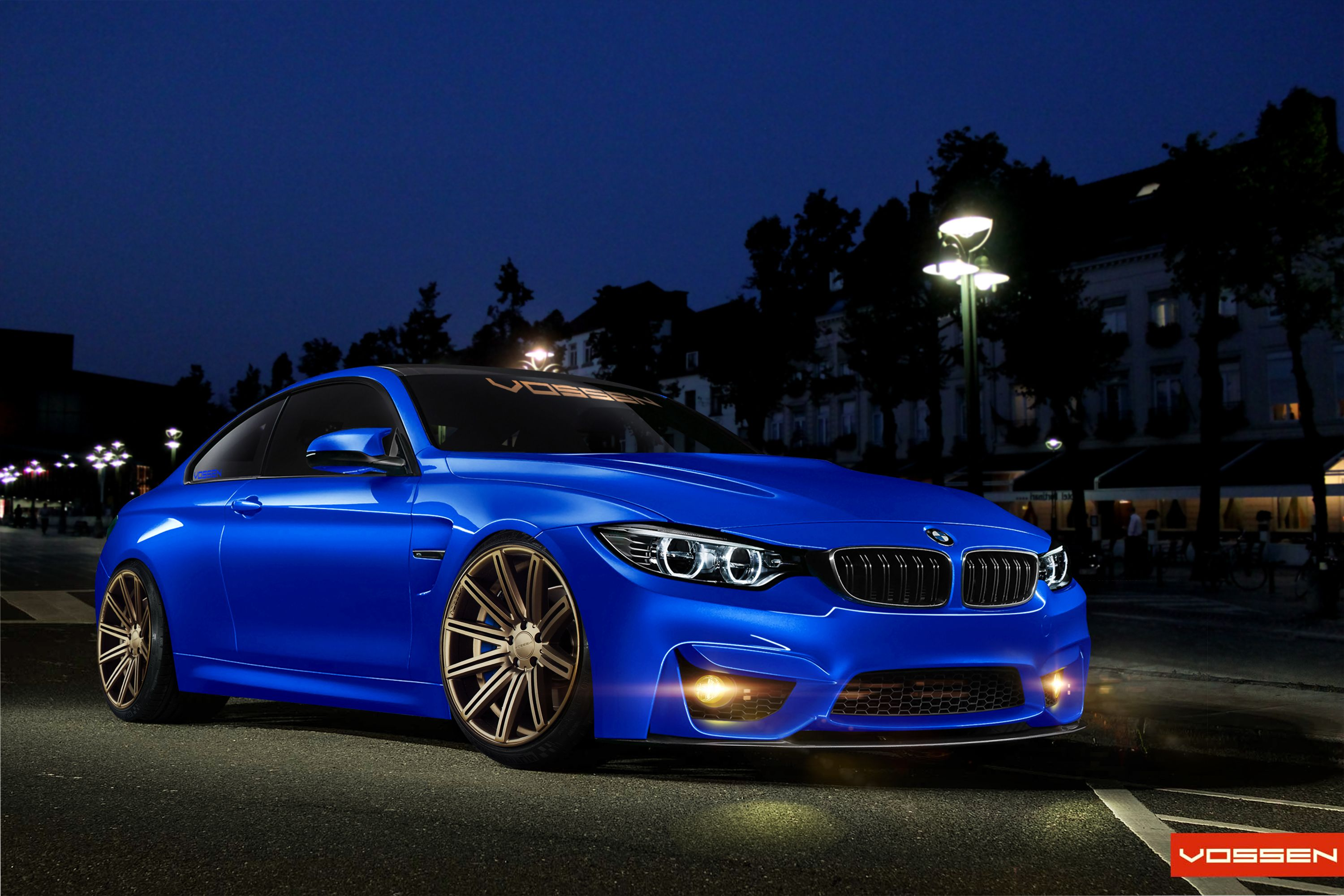 Brand New Bmw M4 Concept Color And Wheels Vossen Cv4 What Do You