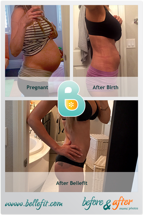 """""""I bought a C-section corset and started wearing 1 week later. It was  great!"""" Monika N."""