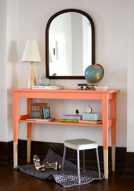 Love It Diy Color Dipped Sideboard Bring A Trend Into