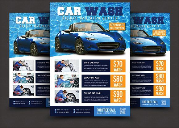 Car Wash Flyer Car Wash Flyer Template And Template