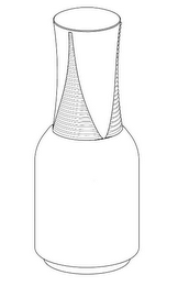 The mark consists of the configuration of the bottle and the bottle cap