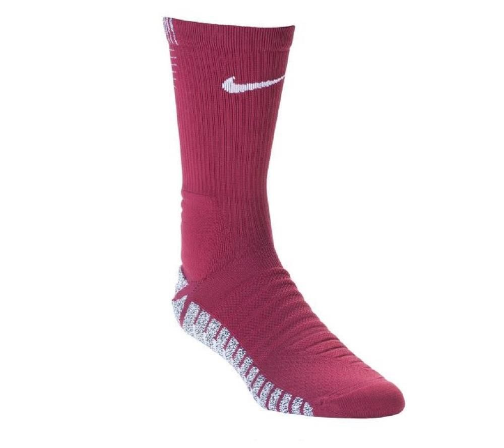 Nike Unisex Nikegrip Strike Cushion Crew Soccer Socks Maroon 10 11 5 Sx5090 677 Nike Soccer Socks Socks Nike
