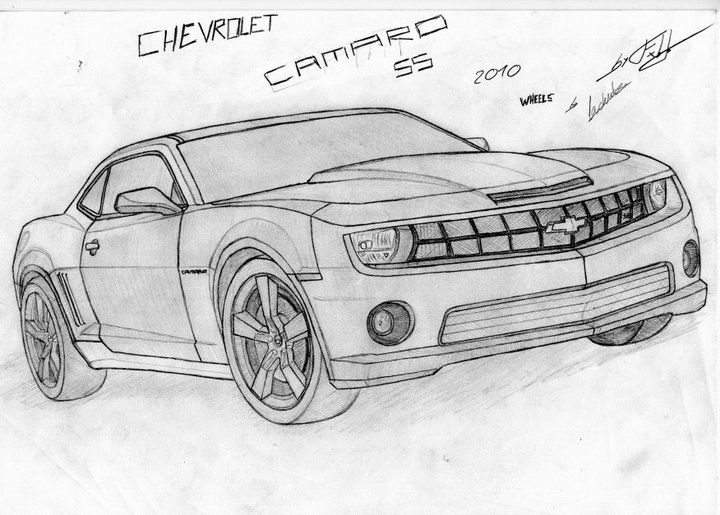 How To Draw Camaro Onto Cakes 10 Images Of Camaro Zl1 Coloring