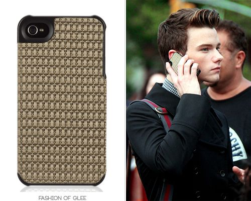 It's a bird! It's a plane! No, it's (finally) Kurt Hummel's iPhone case! Chilewich for Griffin Chain Weave iPhone 4/4S Case - $40.00 Worn with:Marc by Marc Jacobs bag,Rimowa beauty case,Rimowa luggage,HUGO by Hugo Boss shoes Also worn in: 3x17 'Dance With Somebody', 3x21 'Nationals' 4x03 'Makeover', 4x06 'Glease'