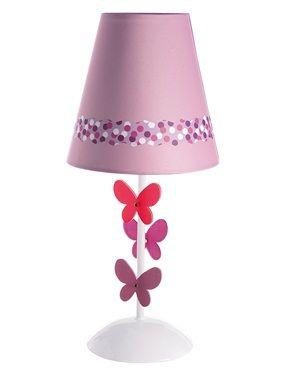 Vertbaudet Nachttischlampe Schmetterlingstraum In