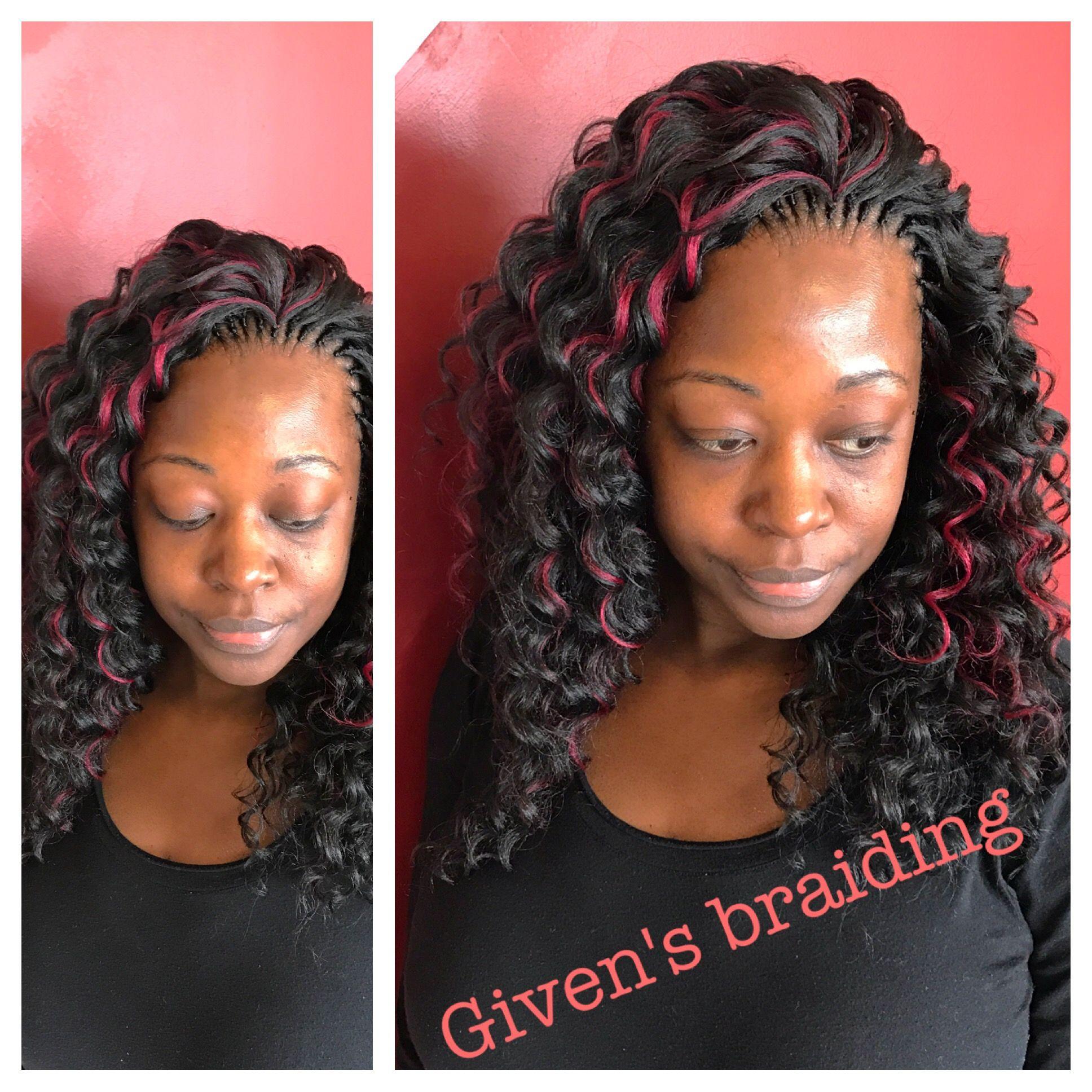 Tree Braid With Kima Ocean Wave Hair Tree Braids