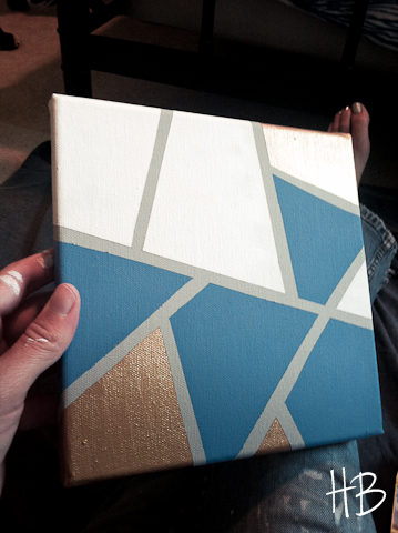 DIY Craft Zone DIY Geometric Art Work - DIY Craft Zone