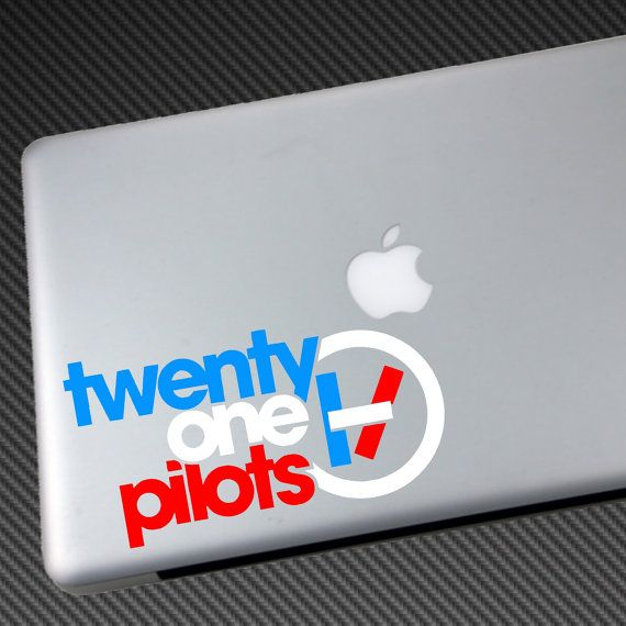 3-Color TWENTY ONE PILOTS Vinyl Decal Car Sticker by JMKDECALS ...
