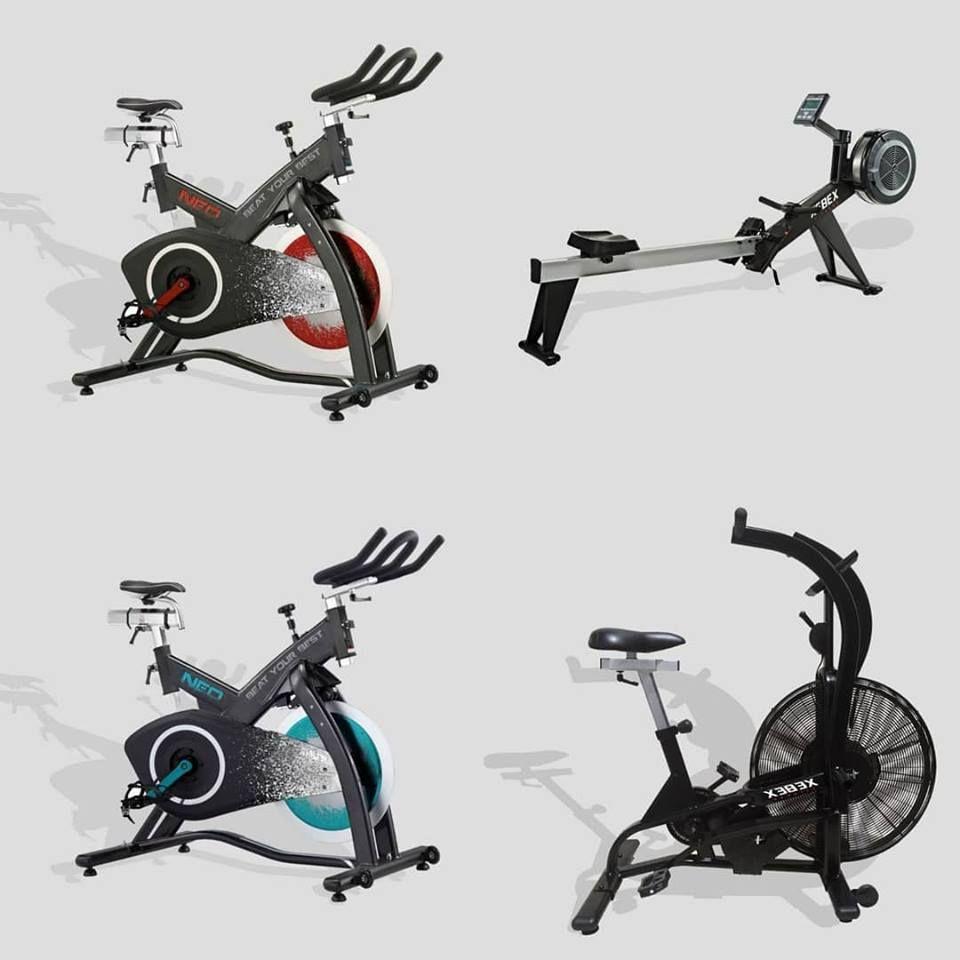 Remo Airrower Xebex Bicileta Ciclo Indoor Neo Bicicleta