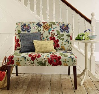 Upholstered Bench   The Dormy House   Dream Home   Pinterest   Upholstered  Bench, Bench And House
