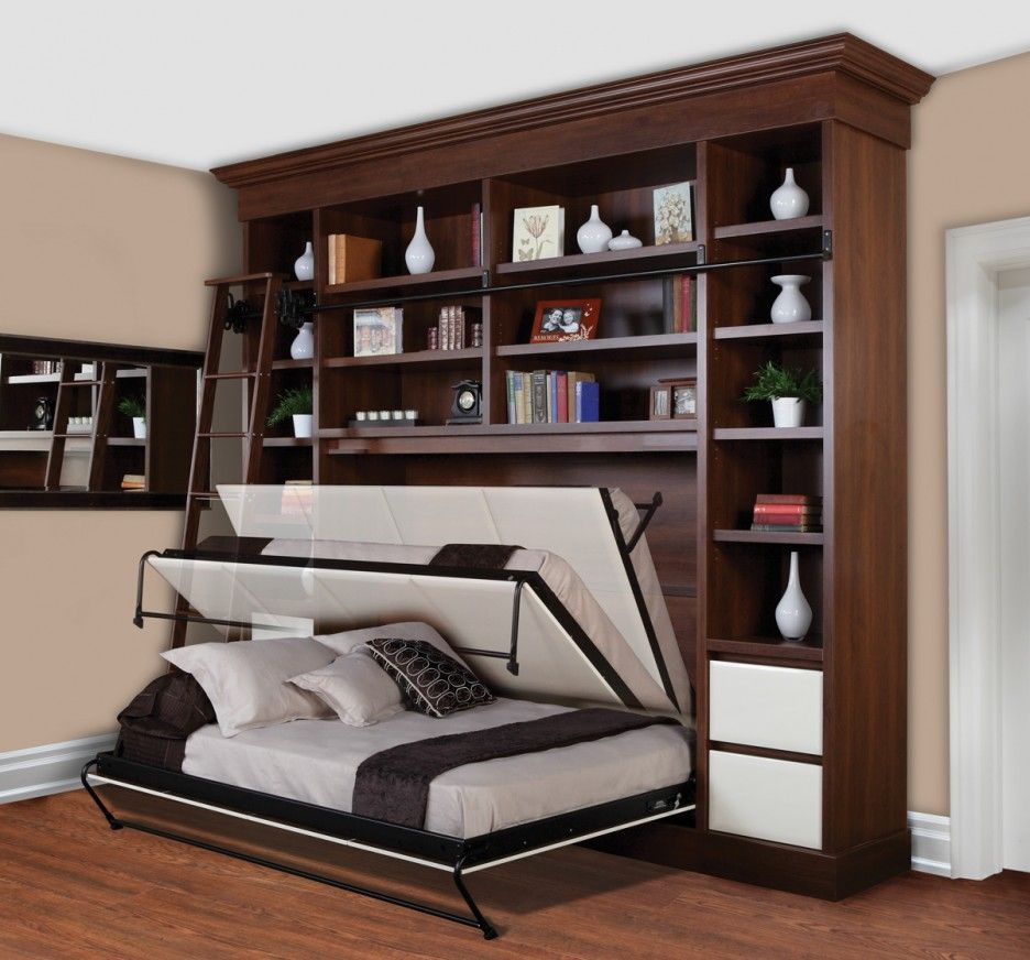 Low cost small bedroom storage ideas home designs for Tiny apartment storage ideas