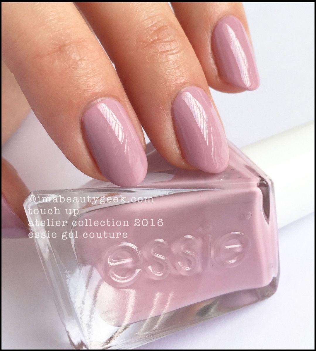 Essie Touch Up_Essie Gel Couture Swatches Review 2016 | Essie nail ...