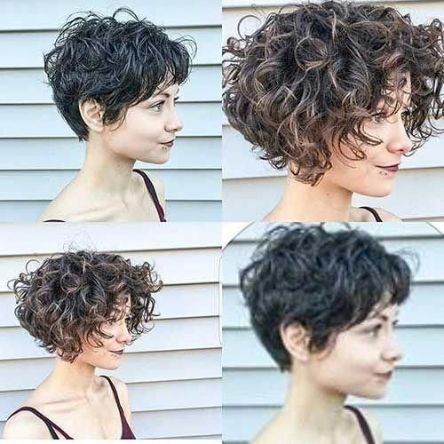 20+ Must-See Short Curly Hair Ideas You will Love | Short Curly Hairstyles #layeredcurlyhair