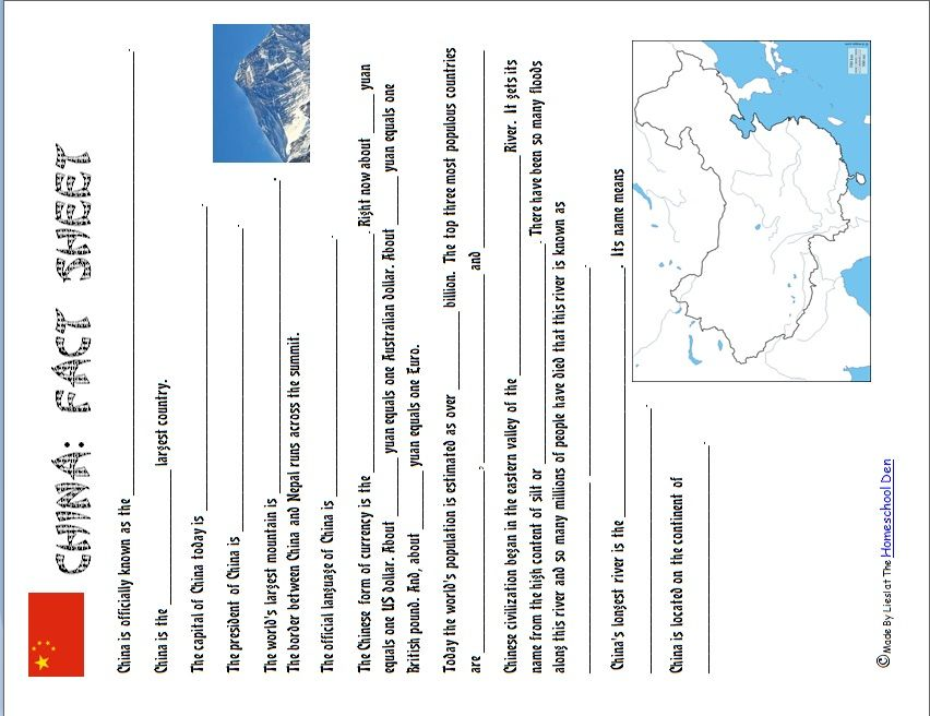 Free Fact Sheet. Introduction To Australia Fact Sheet Printable ...