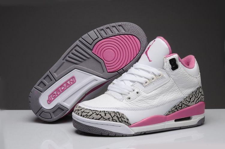 womens air jordan 3 pink