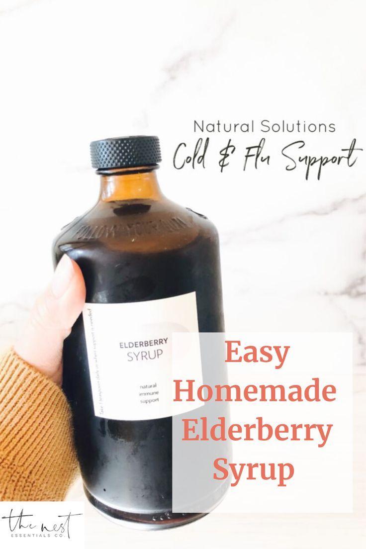 How to make organic elderberry syrup diy elderberry