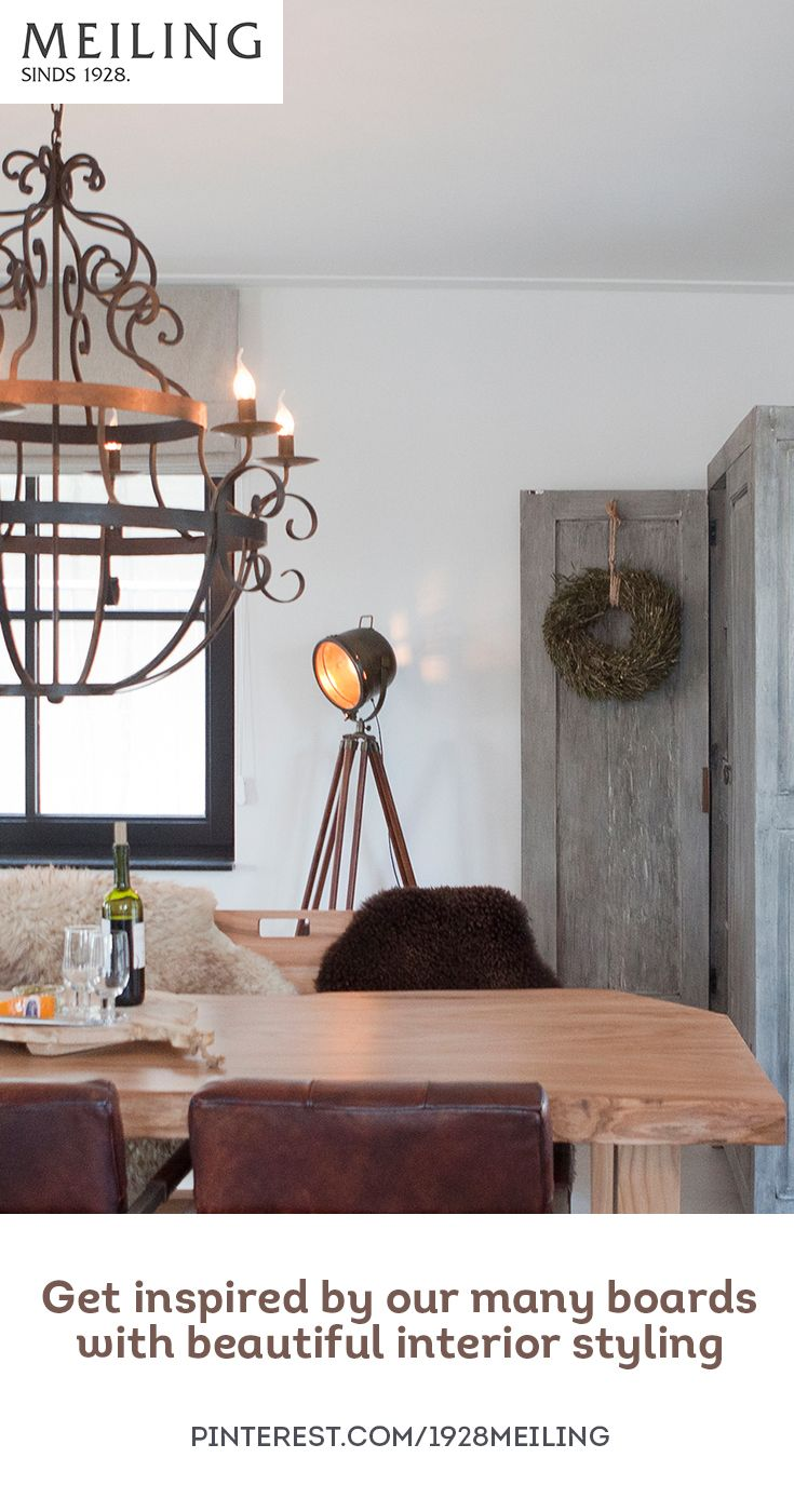 Get inspired by the boards of Meiling with the most beautiful interior styling!