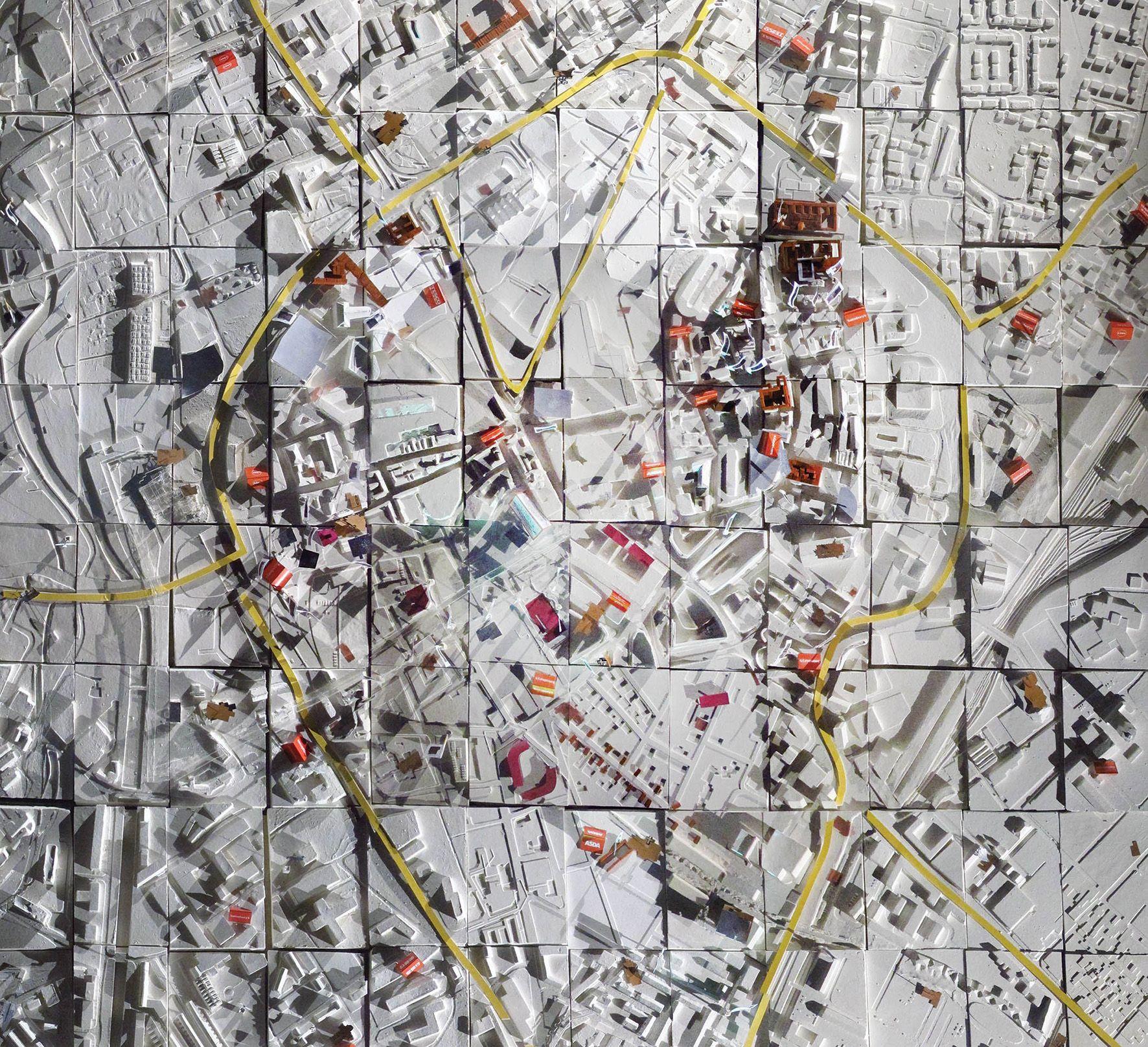 Unit 17 Leicester plater tile map Unit