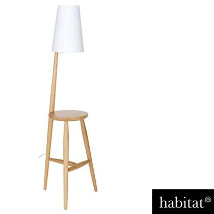 Habitat Wallace Floor Lamp And Table Oak Homebase Floor Standing Lamps Floor Lamp Lamp