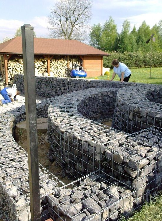 Pin By Virginia Brauer On Gabion Walls Fences In 2019