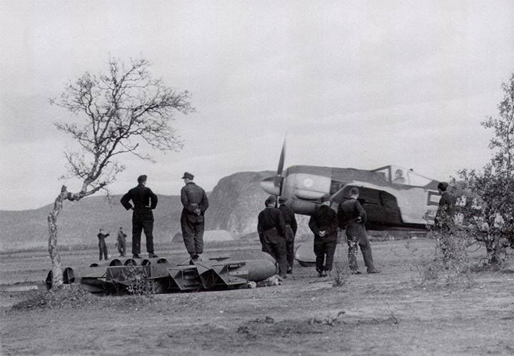 Image result for WW2 German airfield at Petsamo