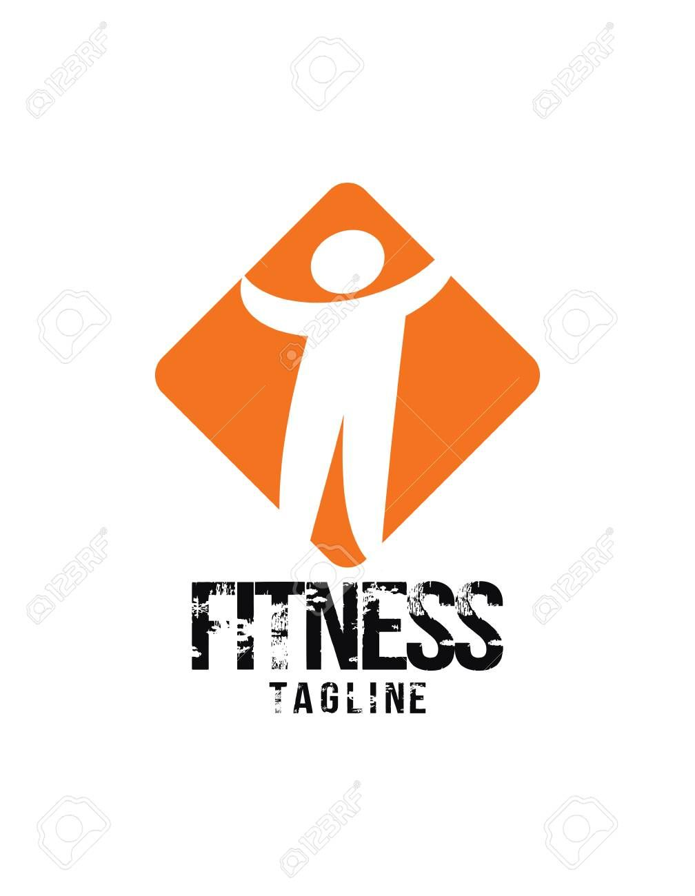 Fitness concept icon. Illustration , #spon, #concept, #Fitness, #Illustration, #icon