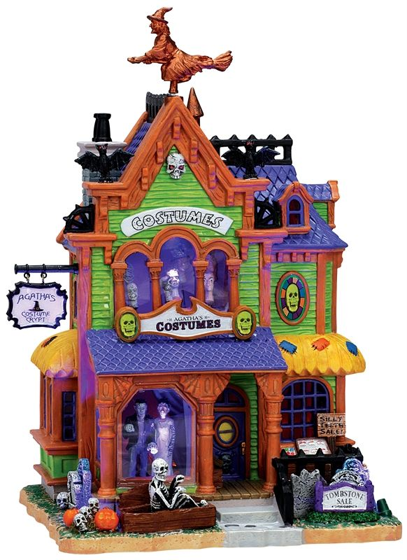 Agatha's Costume Crypt- Lemax Spookytown