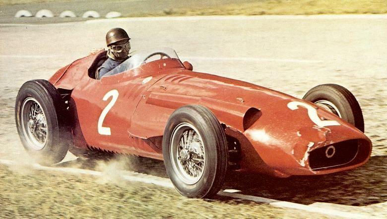 1957 GP Francji (Juan Manuel Fangio) Maserati 250F   fangio ...