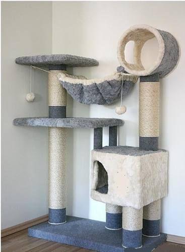 Rascador para gatos tips diy mascotas pinterest gatos cat and kitty - Casas para gatos baratas ...